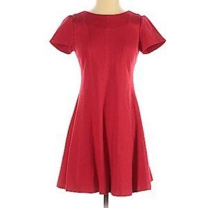 Banana Republic Red A-Line Mini Dress